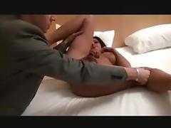 Hot escort hairy MILF anal tube porn video