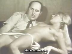 Blonde Girl Hypnotized in to Having Sex (1960s Vintage) tube porn video