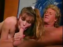 Sonya & Randy West - Biker Chicks in Love (1991) tube porn video