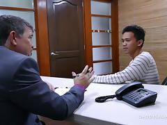 Asian Boy Jude Takes Daddy Cock tube porn video