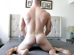 Skinny Blonde Gets Fucked By Irish Muscle Jock tube porn video