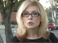Nina Hartley Invites 2 Black Guys To The House tube porn video