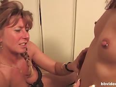 German lesbians playing with their pussies tube porn video