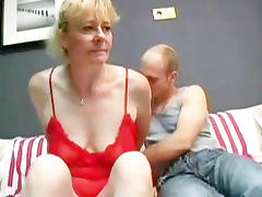 Hairy Granny Fucks For Young Cum tube porn video
