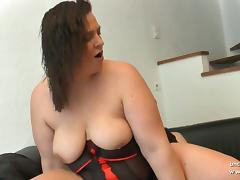 Amateur BBW french mom sodomized and fisted tube porn video