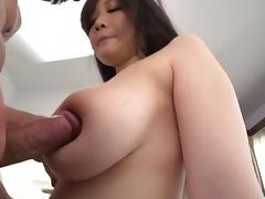 Busty Japanese bimbo gets the dick to play with tube porn video