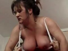 Chubby grandma pounding tube porn video
