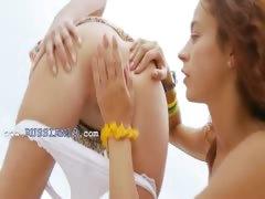 czech teens toying on the beach tube porn video