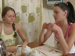Russian lesbo massage tube porn video