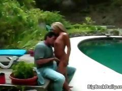 Lusty Asian slut smokes huge boner tube porn video