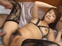 sexy chinese anal fucking with lingerie tube porn video
