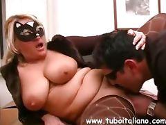 Italian Bigtits Amateur Tettona tube porn video