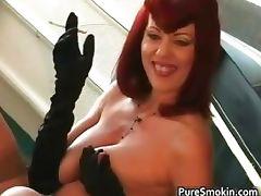 Knockers red head tramp smoking bdsm part1 tube porn video