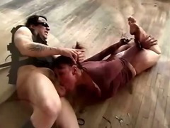 Tied and slapped around tube porn video