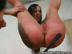 Tit spanking s and m Rope Action intense part1 tube porn video