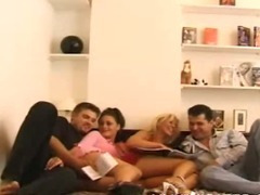 Group Sex With Wonderful Bitches tube porn video