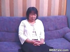 Old horny brunette asian woman tube porn video