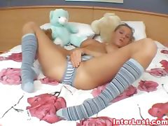 Horny Busty College Chick Solo tube porn video
