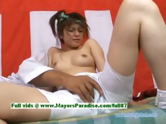 Yuzuru teen japanese beauty gets pussy licked tube porn video