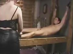 Electro Torture For Slave bdsm bondage slave femdom domination tube porn video