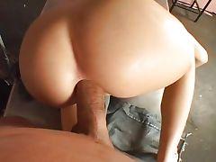 Super hot Rebeca ass creampied tube porn video