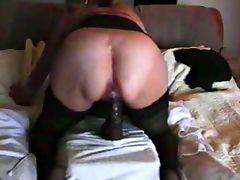 Big Black Dildo In Her Cunt tube porn video