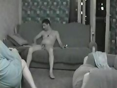 Straight Men Chilling Out Naked tube porn video