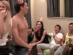 Hardcore anal fuck party for a birthday girl tube porn video