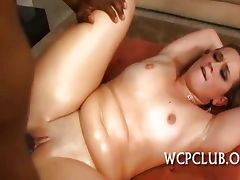 Gangsta fucks white gal tube porn video
