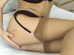 Porn Model Silvia Saint Masturbation Vibrator Lingerie Stockings tube porn video