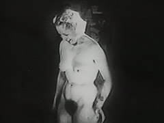 Undressing Blonde gets Watched by Peeping Tom 1940 tube porn video