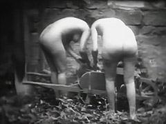 Petite Maids Washing Their Laundry 1910 tube porn video