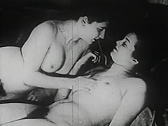 Two Naked Chicks Pleasing Each Other 1930 tube porn video