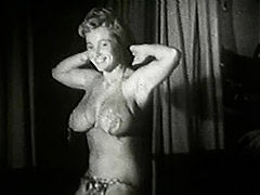 Chubby Bombshell Doing Naughty Moves 1950 tube porn video