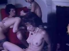 Wild Swingers Orgy in Living Room 1960 tube porn video