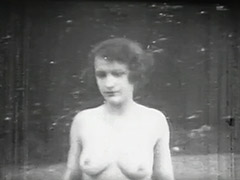 Silly Teenager Walking Through the Forest 1910 tube porn video