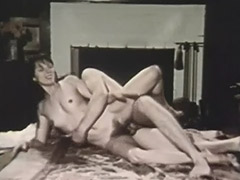A Couple Has Athletic Fucking 1960 tube porn video