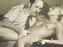 Blonde Girl Hypnotized in to Having Sex 1960 tube porn video