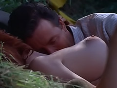 Redhead Fucked in the Forest 1960 tube porn video