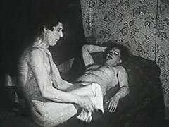 Fat Hooker Fucked by a Thief 1950 tube porn video