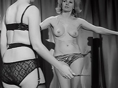 Femdom Whips and Loves Her Female Slave 1960 tube porn video