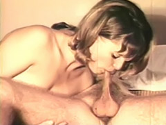 Naughty Couple Playing on the Bed 1970 tube porn video