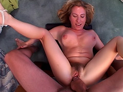 British Babe MILF's Massive Hairy Pussy is Blatantly Exploited by a Fuck Hungry Guy tube porn video