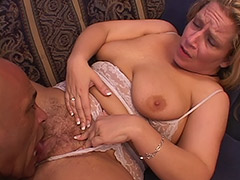 Lusty Fat Babe with a Hairy Bush Sucks on Cock and gets a Great Anal Sex in Exchange tube porn video