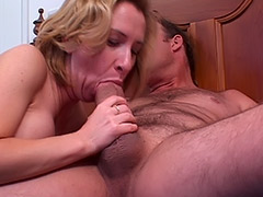 British Babe MILF's Massive Unshaven Vagina is Being Carefully Fucked by a Cunt Hungry Boy tube porn video