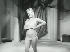 Amazing Blonde Dancing and Undressing 1950 tube porn video