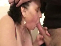 Ginette french BBW gangbanged tube porn video