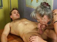 Granny bangers tube porn video