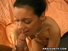 German amateur sucks and fucks tube porn video