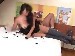 Sexy latino babe fucked hard tube porn video